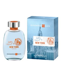 Let s Travel To New York For Man туалетная вода 100мл Mandarina duck