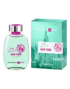 Let s Travel To New York For Woman туалетная вода 100мл Mandarina duck