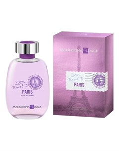 Let s Travel To Paris For Woman туалетная вода 100мл Mandarina duck
