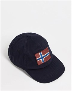 Черная кепка Fontan Napapijri