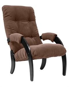 Кресло для отдыха Модель 61 Венге ткань Verona Brown Leset