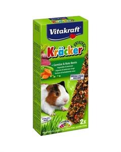 Лакомство для грызунов VITAKRAFT Крекеры овощные 2шт 112г Витакрафт
