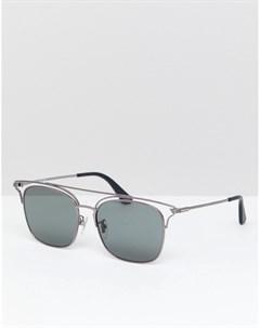 Черные солнцезащитные очки в стиле ретро Черный Police