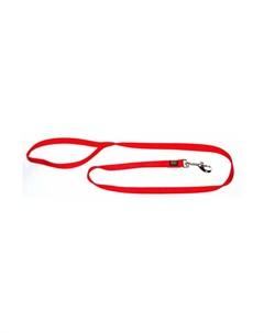 Поводок для собак 25 100 нейлон красный Hunter