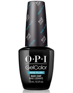 Покрытие базовое выравнивающее для ногтей Ridge Filler Base Coat GELCOLOR 15 мл Opi