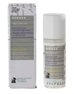 Дезодорант антиперспирант 48 часов с экстрактом хвоща без запаха 30 мл Korres