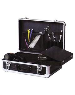 Чемодан для парикмахерских инструментов пластик черный 45х30 5х16 см Dewal professional