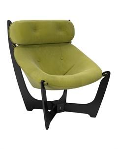 Кресло для отдыха Модель 11 Венге ткань Verona Apple Green Leset