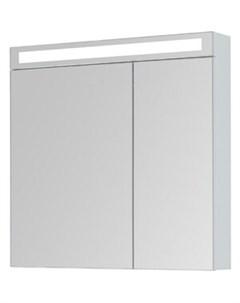 Зеркальный шкаф Max 80 белый глянец 77 9009W Dreja