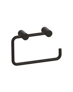 Держатель для туалетной бумаги Petite без крышки сплав металлов черный матовый PETBL00i43 Iddis