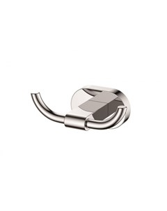 Крючок двойной хром латунь KH 2012 Kaiser