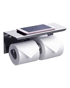 Держатель туалетной бумаги с полкой Edge ED77142A Rush