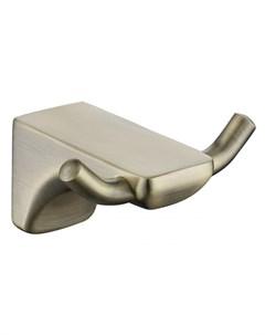 Крючок двойной бронза цинк KH 4502 Kaiser