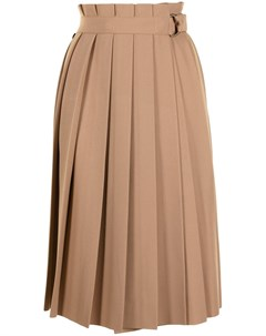 Плиссированная юбка миди Twinset