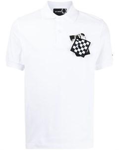 Рубашка поло с нашивкой Raf simons x fred perry