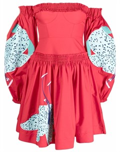 Платье мини Lilie с цветочным принтом Yuliya magdych