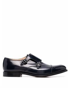 Туфли монки с миндалевидным носком Church's
