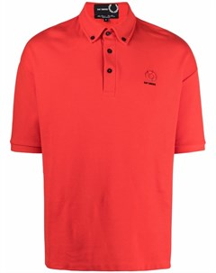 Рубашка поло с вышитым логотипом Raf simons x fred perry
