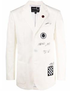 Куртка с принтом граффити Raf simons x fred perry