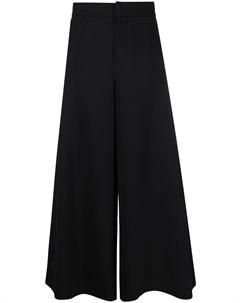 Укороченные брюки широкого кроя Marni