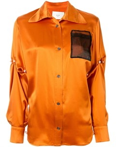 Рубашка с контрастным карманом Quetsche