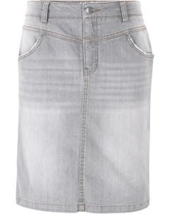 Юбка джинсовая Bonprix