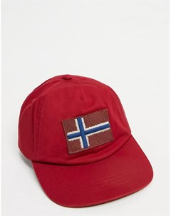 Красная кепка Fontan Napapijri