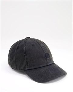 Черная выбеленная кепка H86 Nike sb