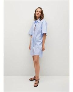 Платье рубашка в полоску Milla h Mango