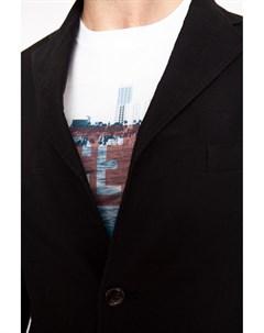 Полуприталенный пиджак из хлопка Kanzler