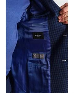 Пиджак приталенный из шерсти и льна Kanzler