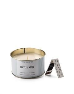 Ароматическая свеча в металле Alexandra Flame moscow