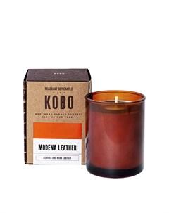 Ароматическая свеча MODENA LEATHER Kobo