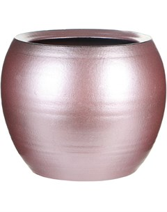 Кашпо Cresta розовое д19в16 Ter steege