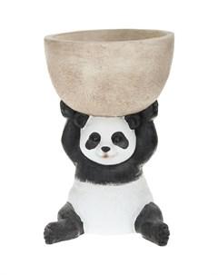 Фигура кашпо панда 35x35x53 5см Kaemingk garden