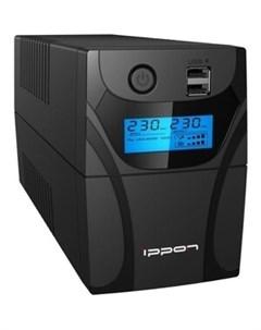 ИБП Back Power Pro II 500 New 300Вт 500ВА black 1030299 Ippon