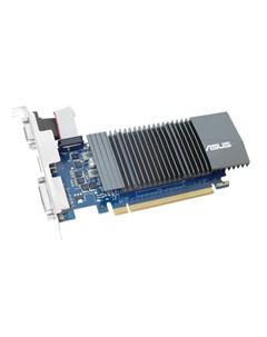 Видеокарта GeForce GT 710 954Mhz PCI E 2 0 1024Mb 900Mhz 32 bit DVI HDMI HDCP GT710 SL 1GD5 BRK Asus
