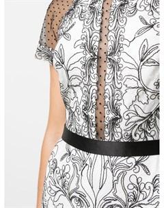 Платье Vihaan с вышивкой Tadashi shoji