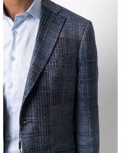 Жаккардовый пиджак строгого кроя Etro