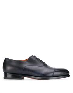 Туфли на шнуровке Santoni