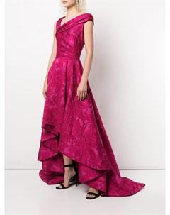 Платье без рукавов с цветочной вышивкой Tadashi shoji