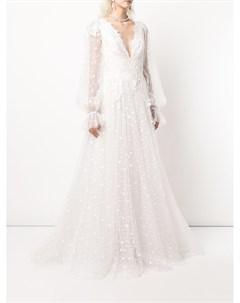 Свадебное платье Gretel с узором в горох Tadashi shoji