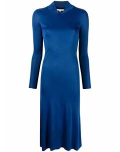 Платье миди с открытой спиной Patrizia pepe