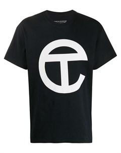 Футболка с короткими рукавами и логотипом Telfar