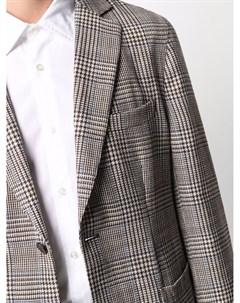 Однобортный пиджак в клетку Officine generale