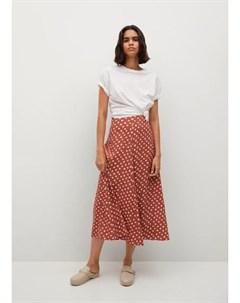 Миди юбка с принтом Sea Mango
