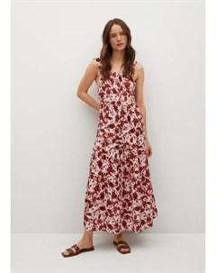 Платье с открытой спиной Coquet Mango