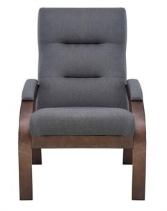 Кресло Лион текстура Орех ткань Малмо цвета в ассорт Leset