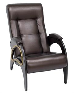 Кресло для отдыха Модель 41 Венге экокожа Oregon 120 Leset