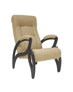 Кресло для отдыха Модель 51 Венге ткань Malta 03 A Leset